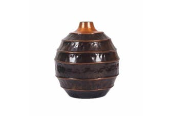 COCOON Small 30cm Tall Vase - Copper