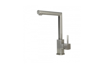 SWEDIA ISAR Stainless Steel Kitchen Sink Mixer - Brushed