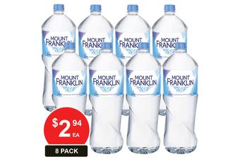 MOUNT FRANKLIN 1.5LT SPRING WATER