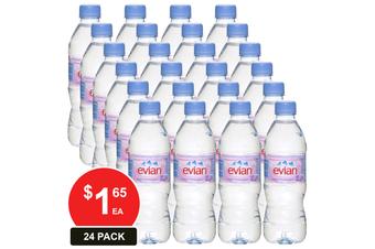 EVIAN 500ML NATURAL SPRING WATER
