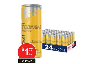 RED BULL 250ML ENERGY DRINK TROPICAL