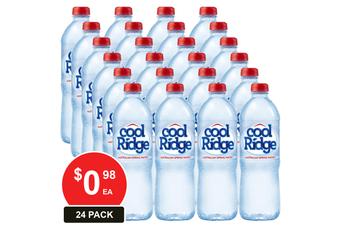 COOL RIDGE 600ML SPRING WATER