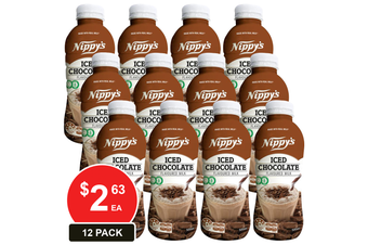 NIPPY'S 500ML BOTTLES ICED CHOCOLATE FLAVOURED MILK