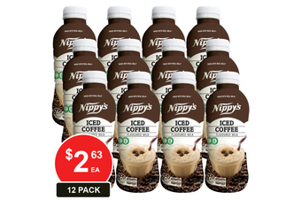 NIPPY'S 500ML BOTTLES ICED COFFEE FLAVOURED MILK