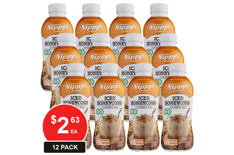 NIPPY'S 500ML BOTTLES ICED HONEYCOMB FLAVOURED MILK