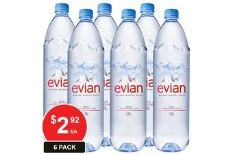 EVIAN 1.25L NATURAL MINERAL WATER