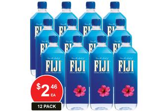 FIJI WATER 1LT NATURAL ARTESIAN WATER