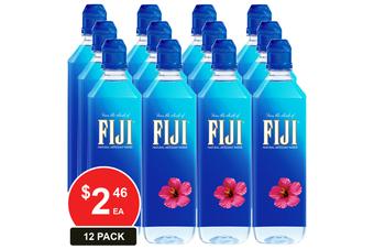 FIJI WATER 700ML SPORTS CAP