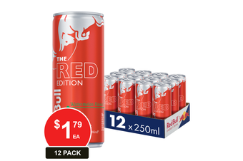 RED BULL 250ML THE RED EDITION