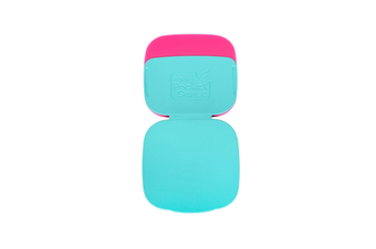 2PCS Can Carry Dust Removal Stickers Washable Clotheshair Remover and Brush-Blue Pink