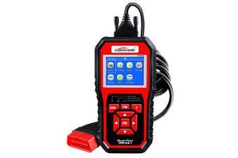 KW850 OBD2 Scanner EOBD Car Scan Diagnostic Tool Engine Fault Code Reader Multi-languages