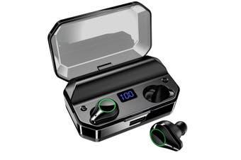 TWS Wireless bluetooth 5.0 Earphone 7000mAh Power Bank Type-C Micro USB Charge LED Display Smart Touch IPX7 Waterproof Headphone with Mic