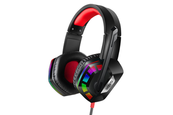 M1 7.1 Channel 3.5mm + USB Wired Omnidirectional Headphone LED Backlight with Microphone for Computer Profession Gamer