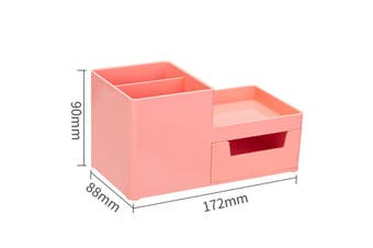 XIAOMI Ecosystem 8907 Storage Box Multi-functional Desktop Pen Holder Student Stationery Organizer with Drawer Desk Accessories Office School Supplies