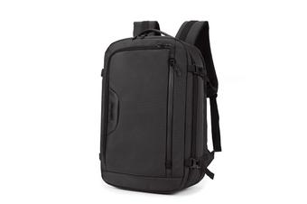 B00187 15.6 Inch Large Capacity Laptop Backpack Mens Womens Waterproof Shoulder Bag Business Laptop Bag Casual Travel Backpack