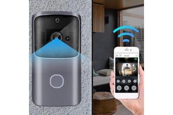 WiFi Wireless Video Doorbell Two Way Talk Smart Door Bell Security Camera PIR