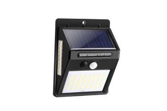 100 LED Solar Light PIR Motion Sensor Safety Outdoor Garden Wall Light