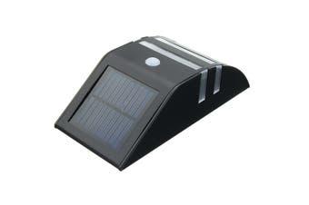Outdoor Waterproof Solar Power Lantern PIR Motion Sensor LED Wall Light Lamp