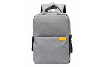 009 Camera Bag Backpack with Padded Insert Bag Tripod Strap for DSLR Camera Lens GRAY