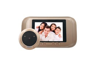 A32D Digital Door Viewer 3.5 inch LED Display HD Peephole Viewer Visual Doorbell for Home Camera