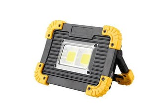 COB  Rechargeable Work Light Portable Outdoor Mobile Power Bank