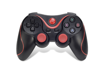 X3 Smartphone Game Controller Wireless bluetooth Gamepad Joystick for Android Tablet PC TV BOX-BLACK