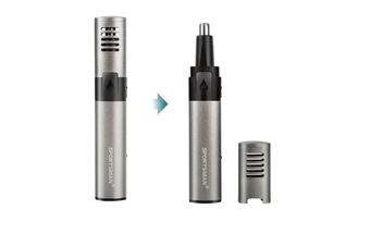 Unisex Electric Nose Hair Trimmer Rechargeable Stainless Steel Shaved Nostril Cleaning Machine