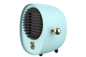 Creative Portable Hug Heater Mini Desktop Silent Hot Air Fan Dormitory Energy-saving Electric Heater-Green