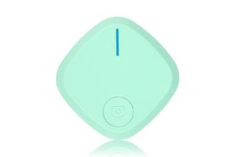 Mini Bluetooth 4.0 Key Finder Smart Alarm Anti Lost Tracker Selfie Controller Bluetooth Anti-lost Film Anti-theft Alarm-Green