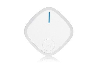 Mini Bluetooth 4.0 Key Finder Smart Alarm Anti Lost Tracker Selfie Controller Bluetooth Anti-lost Film Anti-theft Alarm-White