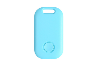Smart Bluetooth Two-way Finder Ultra-thin Anti-lost Device Intelligent Anti-Lost Device GPS Tracker GPS Trackers-Blue
