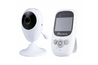 2.4-Inch Wireless Digital Baby Monitor Voice-activated Room Temperature Monitor with Music Playback