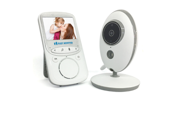 2.4-inch Wireless Baby Monitor Digital Baby Safety Care Device with Voice Intercom Room Temperature Monitoring