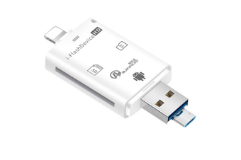 3 In 1 Mobile Phone Card Reader Multi-function Camera SD Card OTG Card Reader for Apple Android Phones