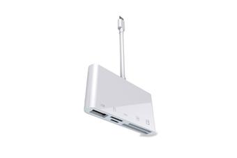 5-in-1 Multifunctional XQD Card Reader OTG Mobile Phone Card Reader USB3.0 for Apple Mobile Phones