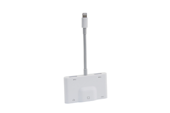 Multifunctional 5 In 1 Lightning To RJ45 Fast Adapter Mobile Ethernet Card Adapter for Apple Mobile