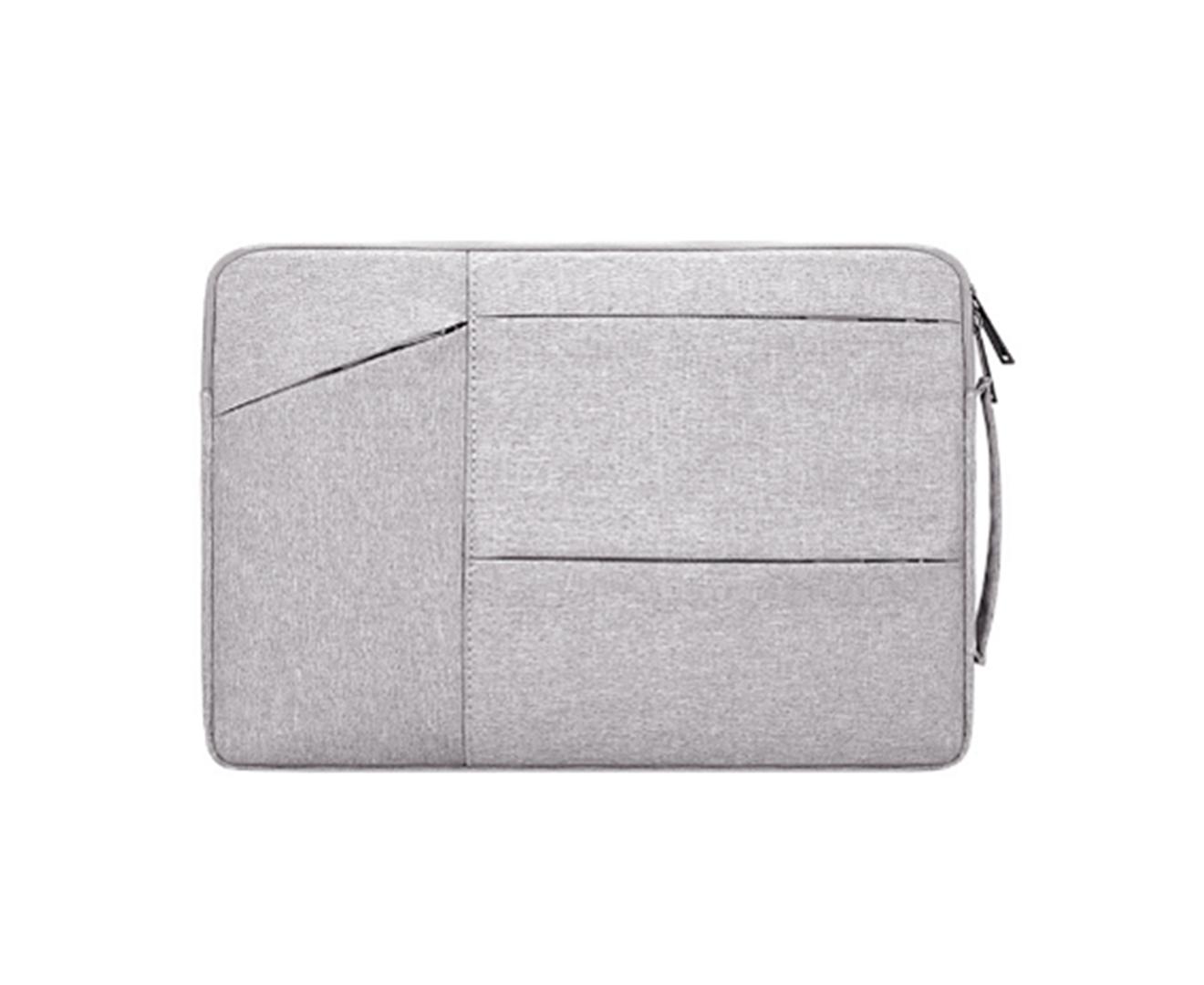 14.1 Inch Waterproof and Wear-resistant Laptop Bag Notebook Liner Bag Business Exhibition Bag-2#-Grey