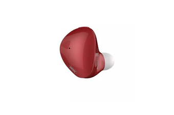 Mini Invisible bluetooth 4.1 Headset 6mm Unit Wireless Stereo Sport Earphone With HD Mic for iphone Xiaomi Samsung-RED