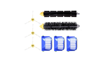 8PCS Robot Vacuum Cleaner Accessories Parts 600 Series Filter Side Brush Glue Brush For iRobot Roomba