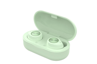 TW60 Bluetooth Headset Wireless Earbud Touch Bluetooth Sports Headphone Wireless Bluetooth Headset with Charging Box-GREEN