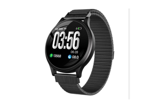 1.22inch Color Screen Blood Pressure Heart Rate Monitor Sport Bluetooth Smart Wristband Watch-BLACK