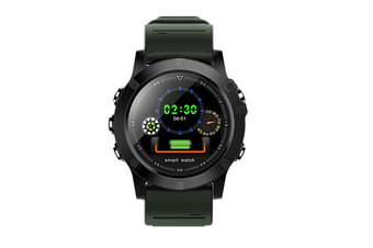 1.22inch Color Screen Blood Pressure Heart Rate Monitor Sport bluetooth Smart Wristband Watch-GREEN