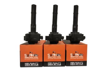 Pack of 3 - SWAN Ignition Coil for Toyota Avalon, Camry/Vienta & Estima (3.0L)