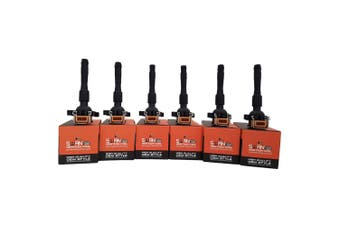 Pack of 6 - SWAN Ignition Coil for BMW 320Ci, 320i, 323Ci, 323i, 328i