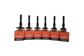 Pack of 6 - SWAN Ignition Coil for BMW 528i, 530i, 728i, M3, X5 & Z3