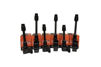 Pack of 6 - SWAN Ignition Coils for Nissan Maxima (A33) 3.0L