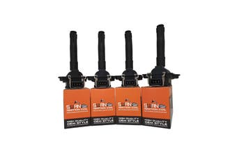 Pack of 4 - Swan Ignition Coils for Audi A3, A4 & A6