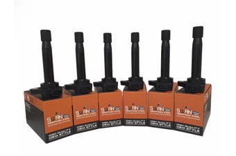 Pack of 6 - SWAN Ignition Coils for Honda Accord 3.0L
