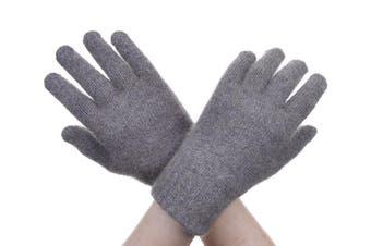 McDonald Bark Possum Fur Merino Full Finger Gloves