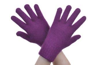 McDonald Berry Possum Fur Merino Full Finger Gloves